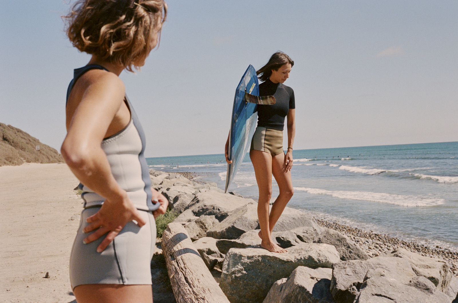Female owned and run wetsuit surf brand photographed surfing in California and in studio in New York. Film directed and edited by Dylan Johnston.